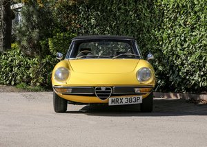 1975 Alfa Romeo 2000 Spider Veloce For Sale by Auction