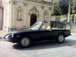 1980 Top condition ALFA ROMEO 2000 SPIDER CODA TRONCA For Sale