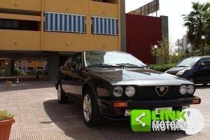 ALFA ROMEO ALFETTA GTV 2.0 1982 - OTTIME CONDIZIONI - ISCRI For Sale