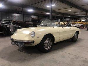 1967 Alfa Romeo Spider Duetto 1750 Veloce
