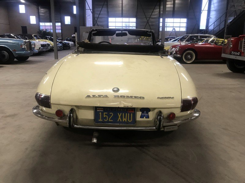 1967 Alfa Romeo Spider Duetto 1750 Veloce For Sale (picture 6 of 6)