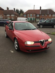 2002 ALFA ROMEO 156 1.6 16V T-SPARK 22000miles!! For Sale