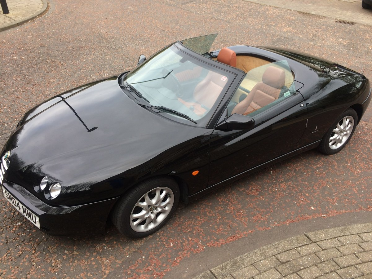 2004 Alfa Romeo spider, JTS Lusso, phase 3. For Sale (picture 2 of 6)