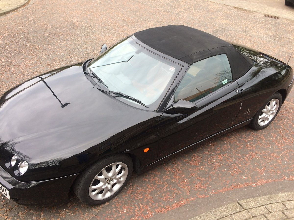 2004 Alfa Romeo spider, JTS Lusso, phase 3. For Sale (picture 3 of 6)