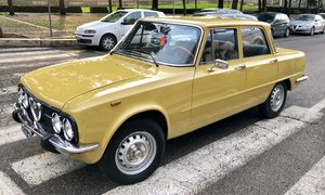 1975 Alfa Romeo Giulia Nuova 1.3,  First Owner, For Sale