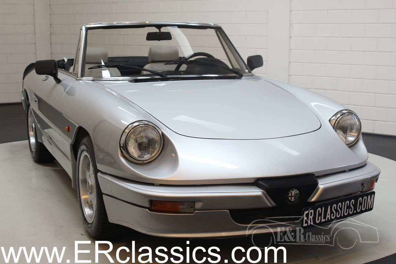 Alfa Romeo Spider 2.0 1986 Only 66,090 km For Sale (picture 1 of 6)