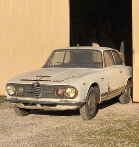 ALFA ROMEO 2600 Sprint – 1963 For Sale by Auction