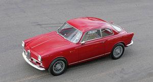 1957 Alfa Romeo Tipo 750E Bertone Giulietta Sprint Veloce Al For Sale