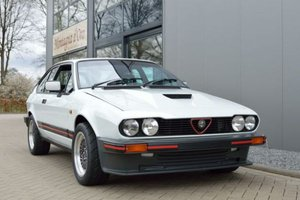 1985 Alfa Romeo GTV 6 3.0 South African Homologati For Sale