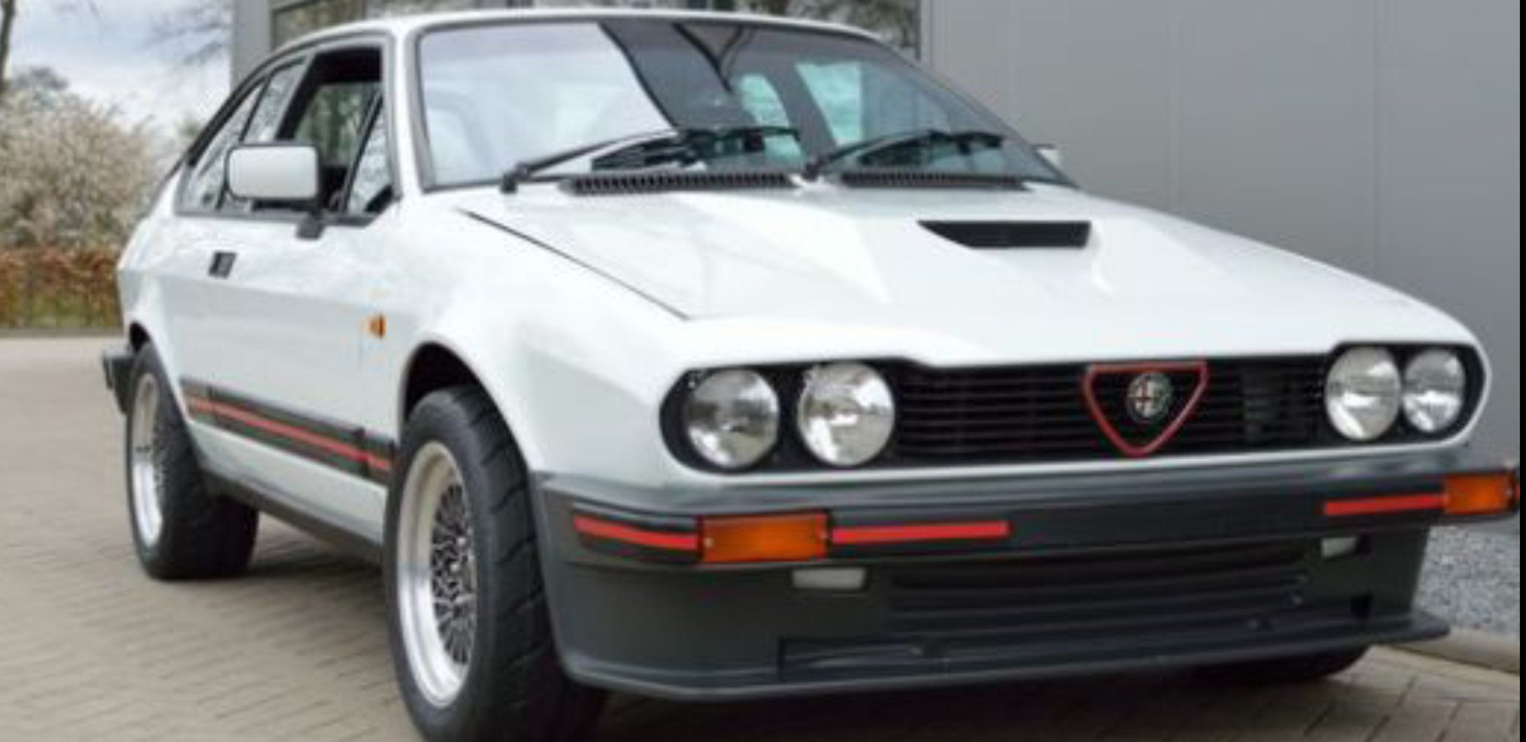 1985 Alfa Romeo GTV6 3.0 South African Homologati For Sale (picture 1 of 1)