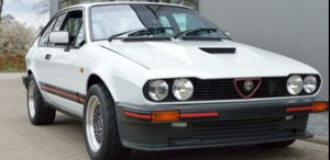 1985 Alfa Romeo GTV6 3.0 South African Homologati For Sale
