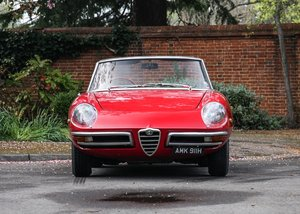 1970 Alfa Romeo 1750 Spider Veloce For Sale by Auction