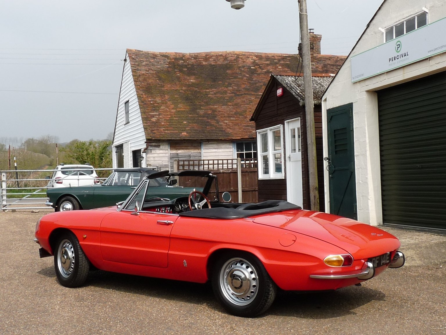 1967 Alfa Romeo Spider Duetto, UK car, Sold SOLD (picture 2 of 6)