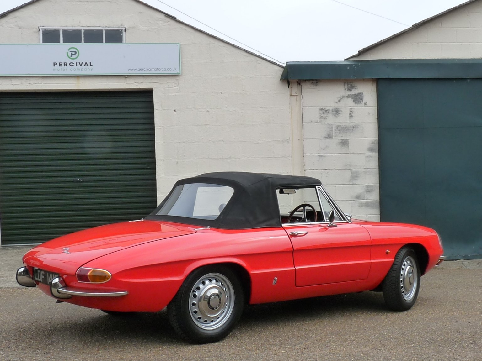 1967 Alfa Romeo Spider Duetto, UK car, Sold SOLD (picture 5 of 6)