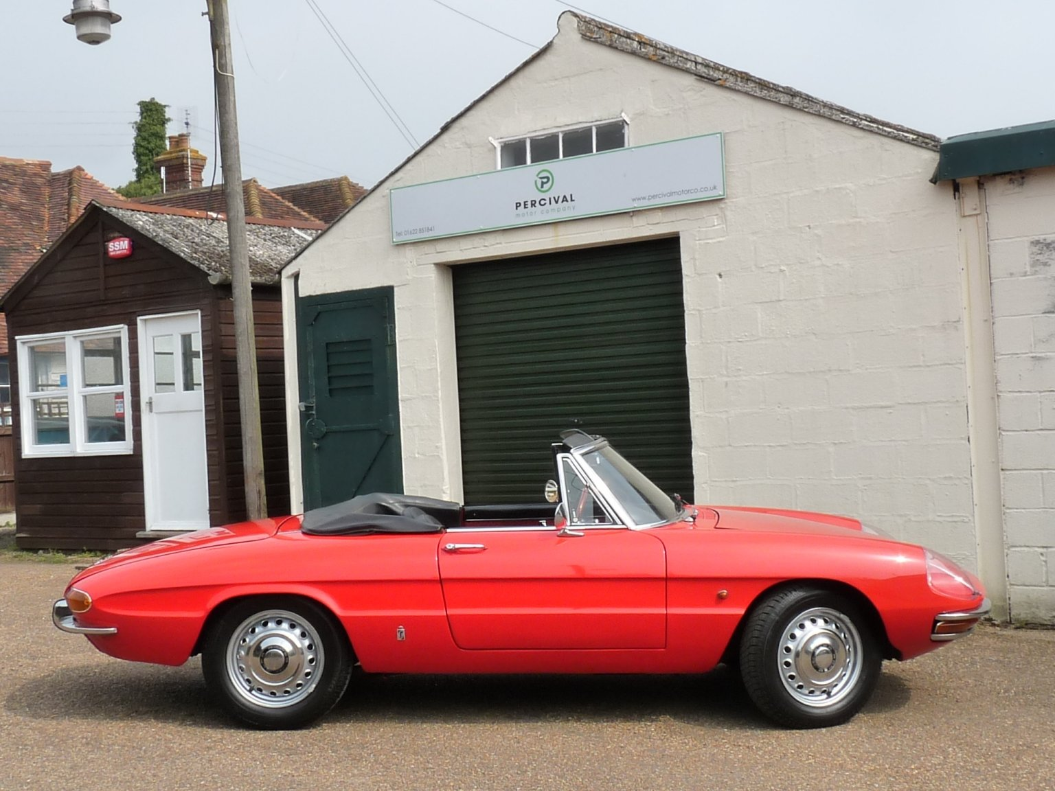 1967 Alfa Romeo Spider Duetto, UK car, Sold SOLD (picture 6 of 6)