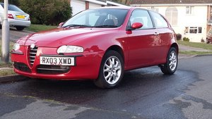 2003 Alfa 147 2.0TS Lusso – Cambelt and Variator done For Sale