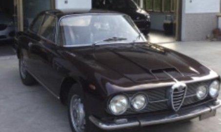 1961 Alfa Romeo 2600 sprint For Sale
