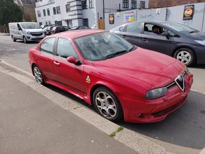 2003 Alfa Romeo 156 GTA 3.2 V6 Saloon, Red, Manual For Sale