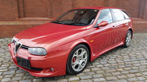 2004 ALFA ROMEO 156 SPORTWAGON GTA 3.2 * VERY RARE IN NUOVA RED *