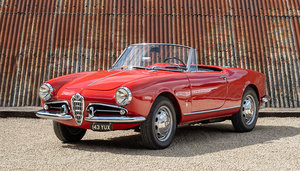 Picture of 1959 ALFA ROMEO GIULIETTA SPIDER SOLD