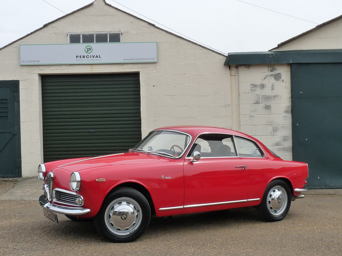 1962 Alfa Romeo Giulia 1600 Sprint, long term ownership For Sale (picture 1 of 6)