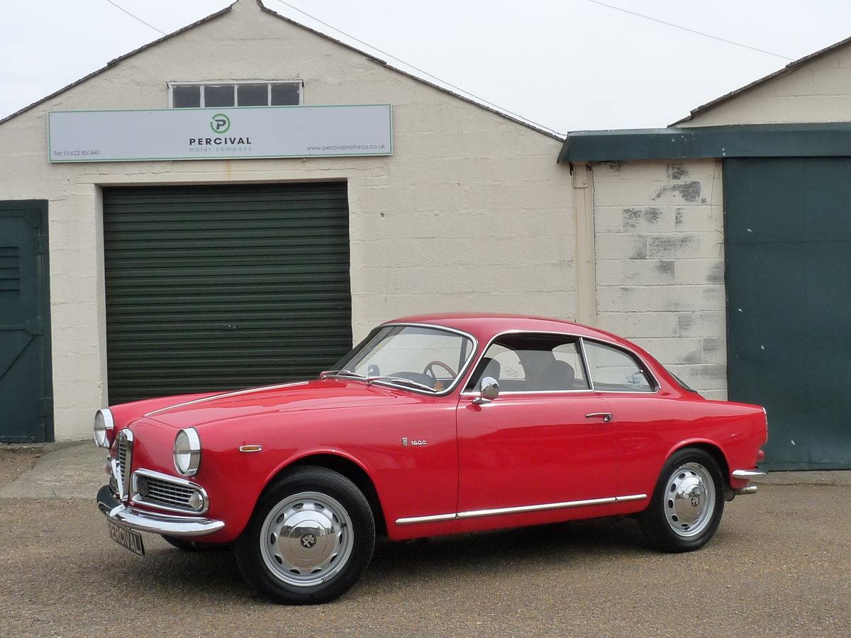 1962 Alfa Romeo Giulia 1600 Sprint, SOLD SOLD (picture 1 of 6)