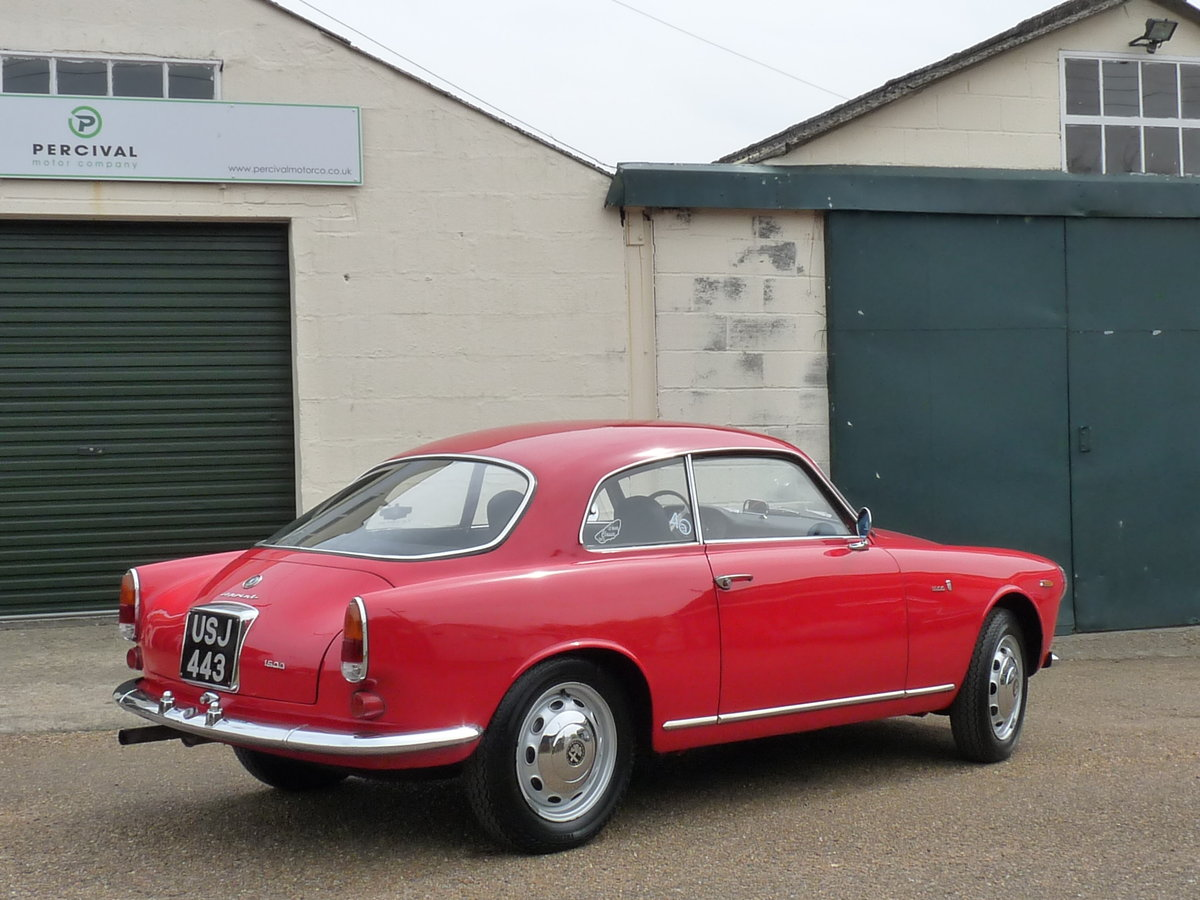 1962 Alfa Romeo Giulia 1600 Sprint, long term ownership For Sale (picture 2 of 6)