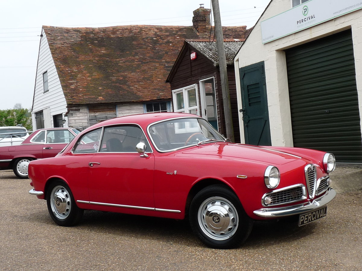 1962 Alfa Romeo Giulia 1600 Sprint, long term ownership For Sale (picture 5 of 6)