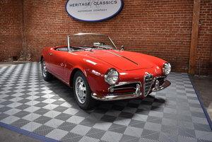 1959 Alfa Romeo Giulietta Veloce Spider SOLD
