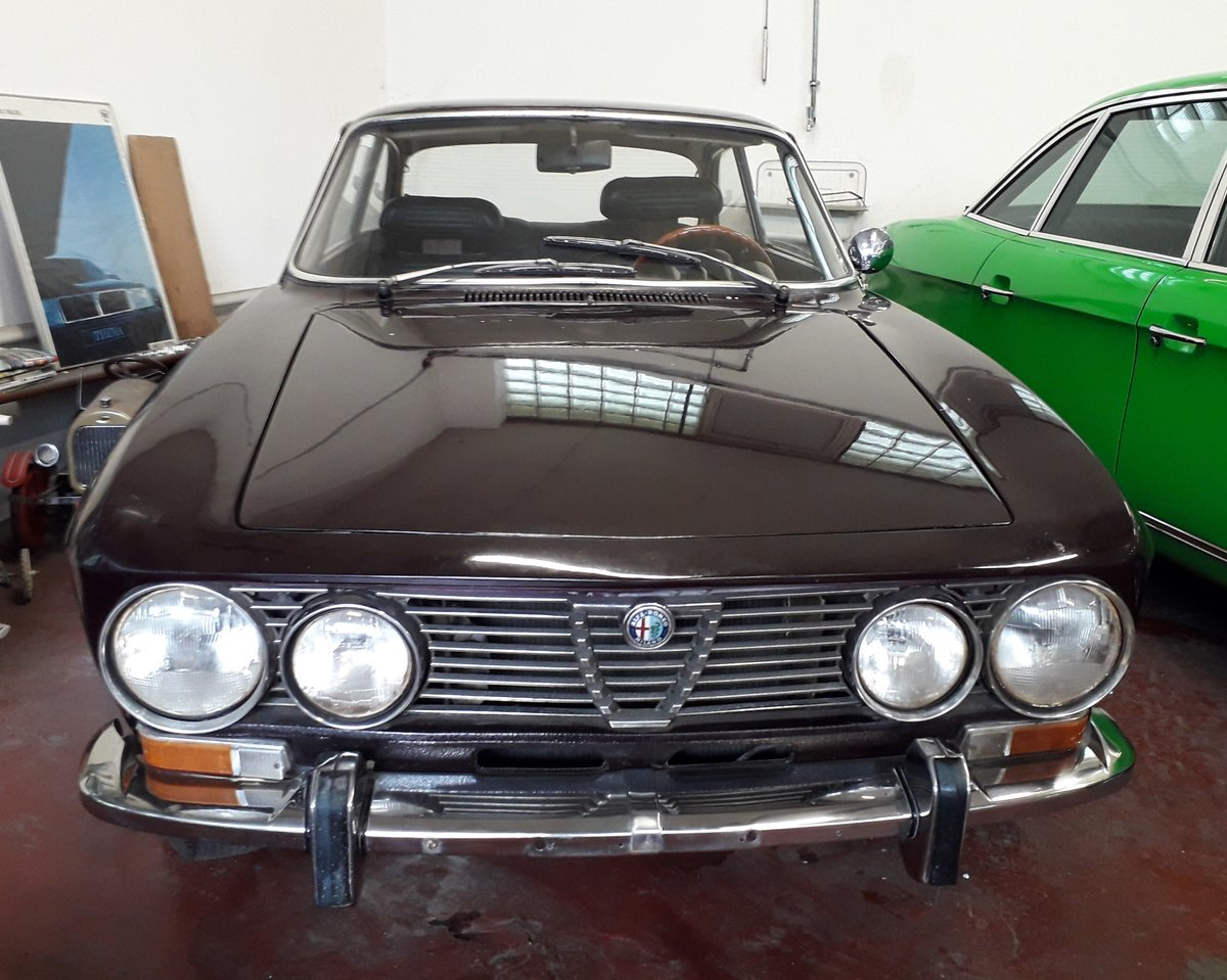 1972 top original Alfa Bertone GTV 2000, two owners For Sale (picture 1 of 6)
