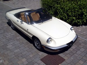 1987 ALFA ROMEO SPIDER Inj  (THE GRADUATE) LHD SOLD