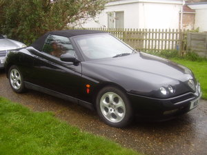 1997 Alfa Spider 2.0 T spark Spider Lusso For Sale
