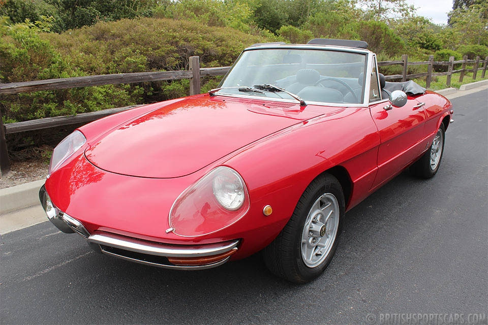 1969 Alfa Romeo Duetto = Clean Red(~)Black driver $57k For Sale (picture 1 of 6)