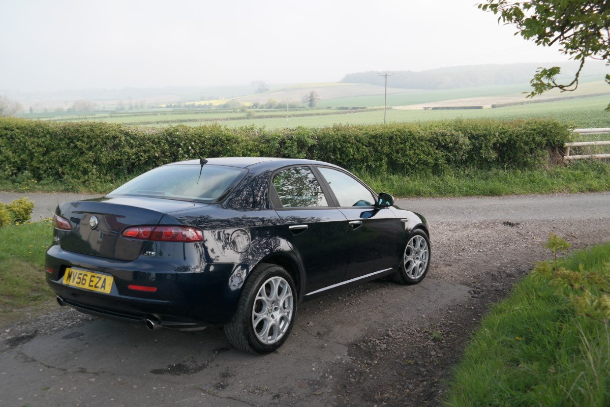 2006 Alfa Romeo 159 3 2 V6 Jts Q4 Lusso For Sale Car And Classic