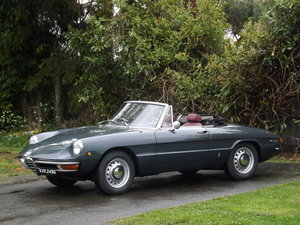 1969 Alfa Romeo Duetto Boat Tail Spider -  Stunning Resto For Sale by Auction