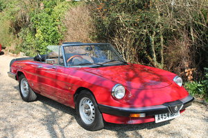 Alfa Romeo Spider S3 Red 1984