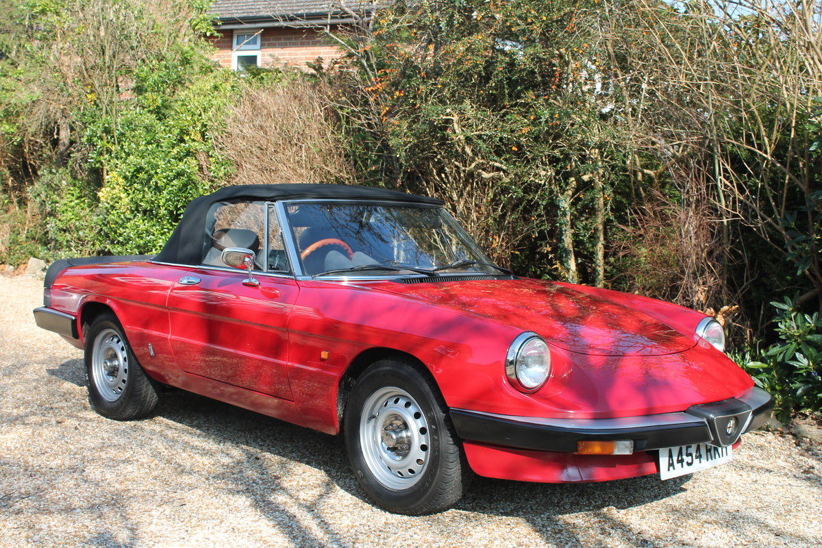 Alfa Romeo Spider S3 Red 1984 For Sale (picture 2 of 6)