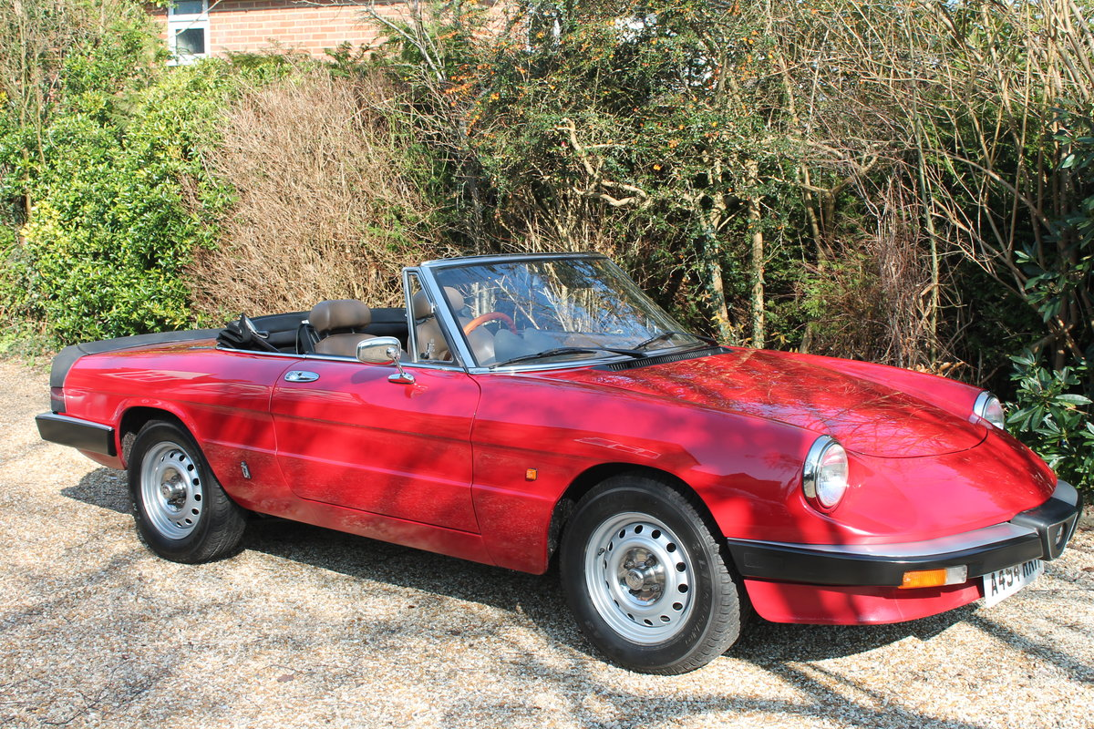 Alfa Romeo Spider S3 Red 1984 For Sale (picture 4 of 6)