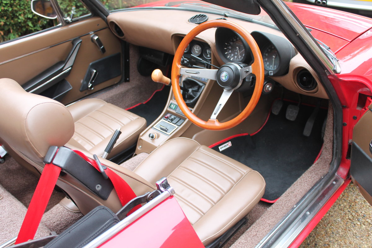 Alfa Romeo Spider S3 Red 1984 For Sale (picture 6 of 6)