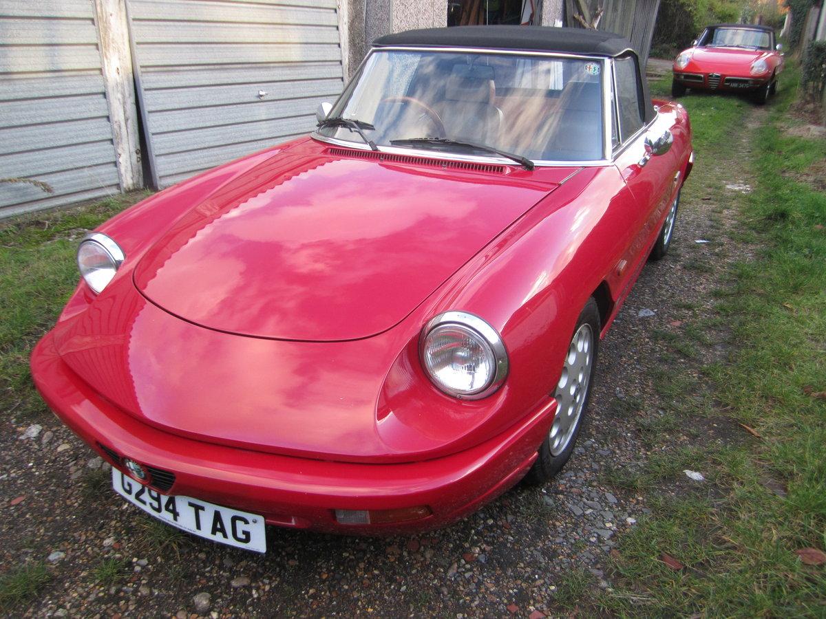 1990 Alfa Romeo Spider  For Sale (picture 2 of 6)