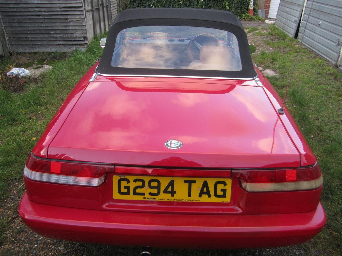 1990 Alfa Romeo Spider  For Sale (picture 3 of 6)
