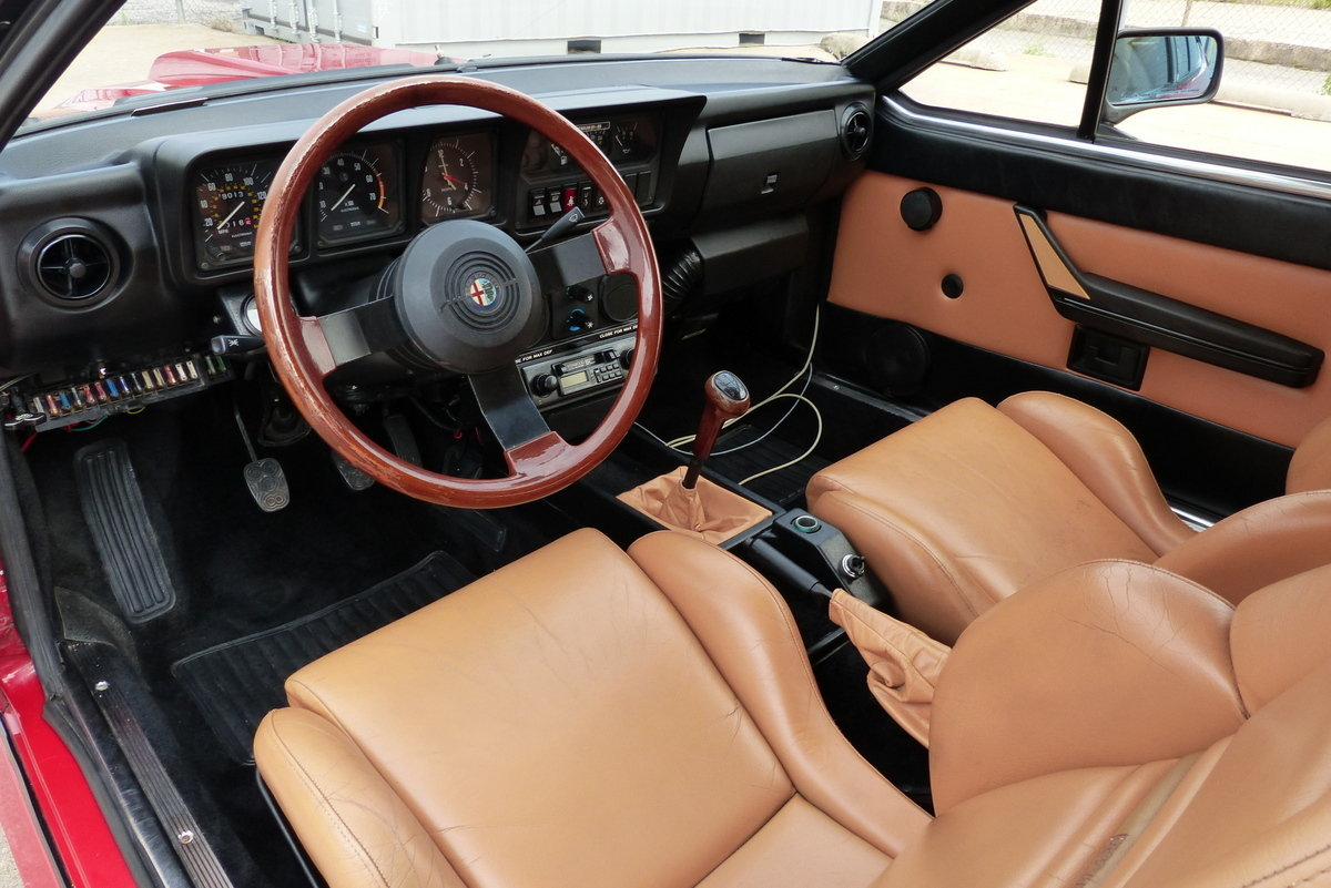 1985 Alfa Romeo GTV 6 2.5 Callaway Twin Turbo For Sale (picture 4 of 6)