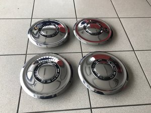 Chrome Alfa Romeo Caps NEW