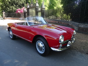 1961 Alfa Romeo Giulietta Spider For Sale