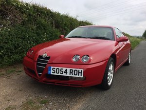 2005 Alfa Romeo GTV 2.0 JTS For Sale by Auction