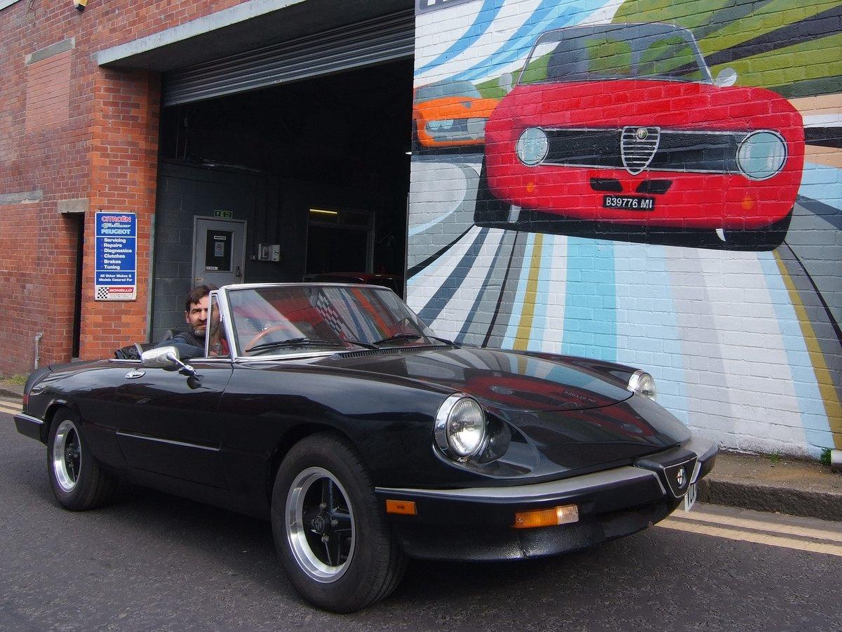 1982 Alfa Romeo S3 Spider Aerodinamica 2.0  SOLD (picture 3 of 6)