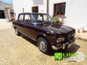 Alfa Romeo Giulia Super 1600 TI Anno 1972 For Sale