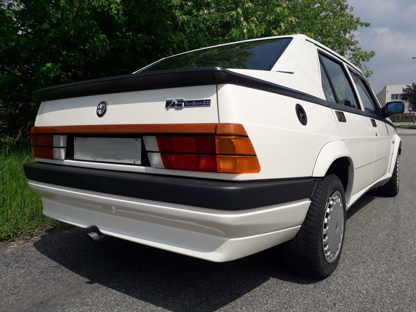 1987 Very early 75 t.spark with 61 k km! For Sale (picture 2 of 6)