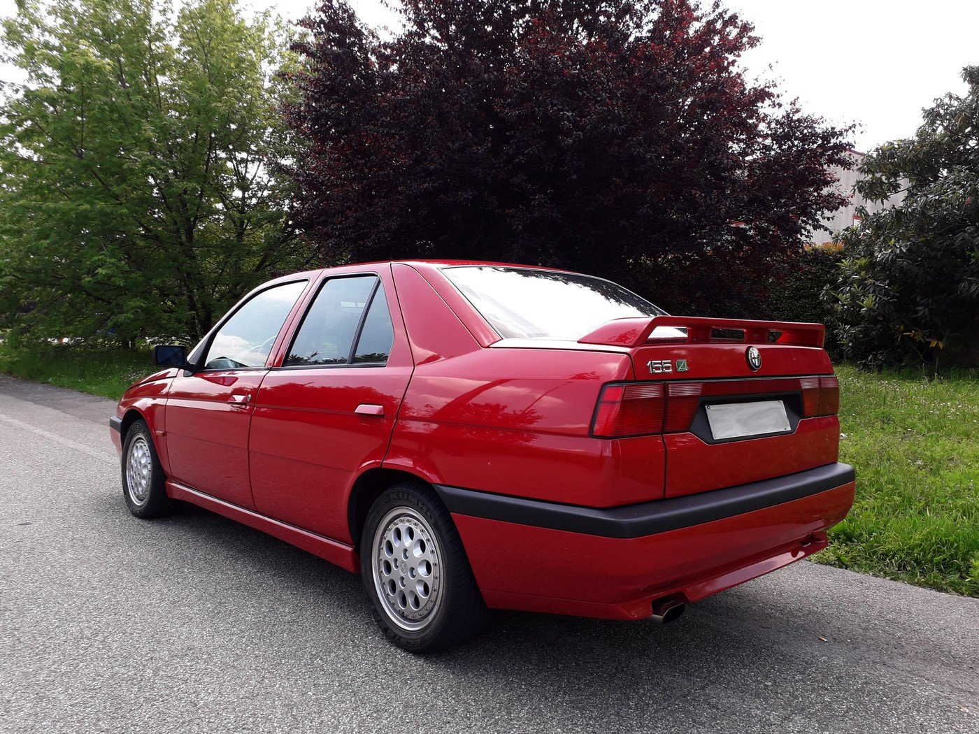 1994 One of the 2700 alfa 155 q4 ,full history. For Sale (picture 3 of 6)
