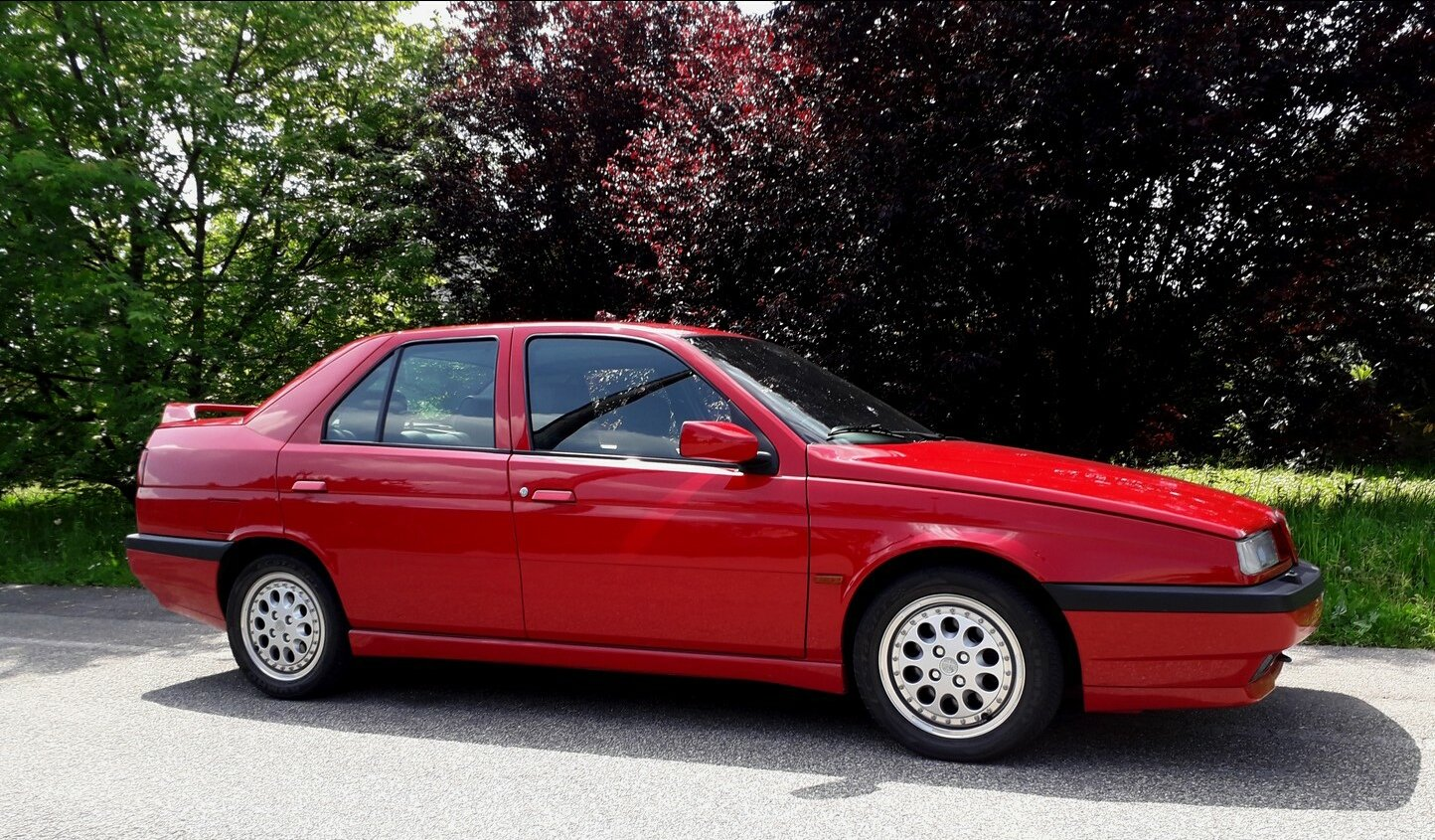 1994 One of the 2700 alfa 155 q4 ,full history. For Sale (picture 2 of 6)